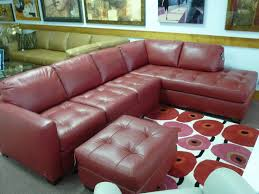 dark red leather sofa natuzzi red leather sofa home and textiles