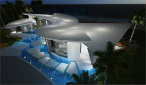 Villa Modern by Modern Caribbean Villa Right On The Beach Youtube