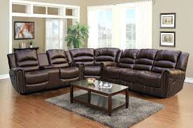 Leather Sectional Sofa Chaise Leather Sectional Sofa With Chaise And Recliner U2013 Knowbox Co