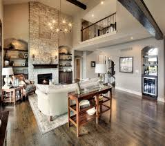 Pictures Of Open Floor Plan Homes by 2 Story Fireplace Balcony Open Floor Plan Http Www
