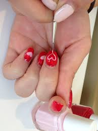 tutorial valentine u0027s day nail art from mars the salon nail it
