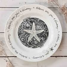 wedding plate personalized wedding gifts coastal wedding plate