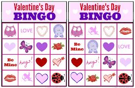 valentines bingo free bingo printable collection for kids