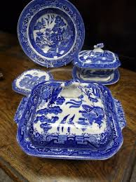 willow pattern jam pot victorian blue and white willow pattern tureen willow pattern