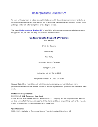 resume samples uva career center job examples for college students