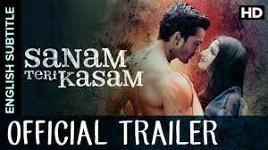 sanam teri kasam official trailer with subtitle