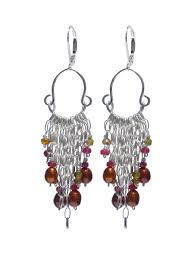 and pearl chandelier earrings yaf sparkle jewelry boutique delanacre ruby freshwater pearl