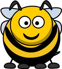 clipart cartoon bee