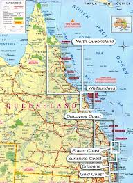 map of queensland map pdf