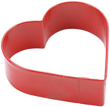 amazon com wilton red metal heart cookie cutter 3