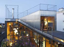Patio House Mabire Reich U0027s Landscape House Extension Maximizes Outdoor Spaces