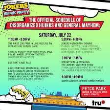 Petco Park Map The Impractical Jokers Block Party