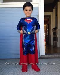 5 Boy Halloween Costumes Man Steel Superman Costume 5 Boy Superman