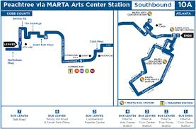 Atlanta Marta Train Map by Cobblinc Cobbtransit Twitter