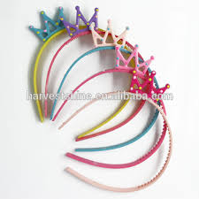 thin headbands korean thin plastic headband kids colorful crown headband
