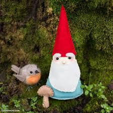 diy felt garden gnomes lia griffith