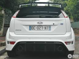 Focus Rs 2009 Ford Focus Rs 2009 White Edition 21 July 2014 Autogespot