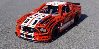 lego ford lego expert creates ford mustang shelby gt500 scale replica