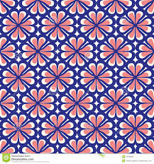 seamless and coral floral pattern stock vector image 54086883