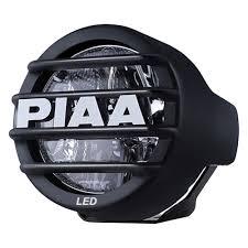 round led driving lights piaa lp 530 sae dot 3 5 2x6w round driving beam led lights