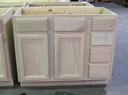 Bathroom Base Cabinets Vanity Sink Base 42unfinished Oak Kitchen Cabinets Vanities