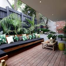 Decks With Benches Built In 33 Best Built In Planter Ideas And Designs For 2017