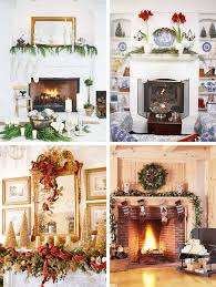 Mantel Fireplace Decorating Ideas - 33 mantel christmas decorations ideas digsdigs