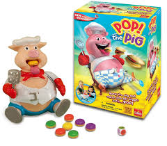 amazon com pop the pig game u2014 new and improved u2014 belly busting