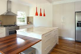 timber kitchen designs marble timber kitchen benchtops
