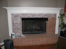 how to refinish brick fireplace on a budget top with how to
