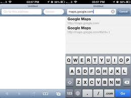 Maps Googlecom How To Fix Ios 6 Maps Chris Brandrick
