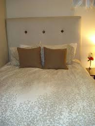Homemade Wooden Beds Bedroom Design Awesome White Upholstered Homemade Headboard