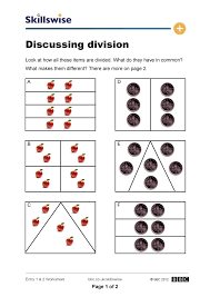 division as sharing worksheets worksheets