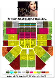 Oracle Arena Map Shreya Ghoshal Live In Bay Area W Grand Symphony First Time Ever