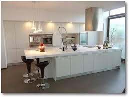 meuble cuisine arrondi cuisine avec ilot central arrondi amazing cuisine blanche et bois
