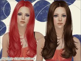 hair color to download for sims 3 s skysims hair 089 mesh