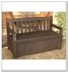 outdoor bench with storage beefed up outdoor storage bench do it