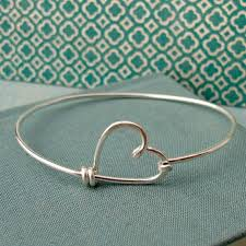 love heart silver bracelet images Romantic heart love jewelry adworks pk jpg