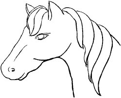 printable horse coloring pages 3088 bestofcoloring