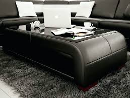 Leather Coffee Table Storage Square Leather Coffee Table Lear Quare Large Square Leather Coffee