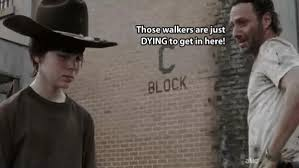 Rick Grimes Crying Meme - 31 of the best dad jokes told by walking dead s rick grimes thechive