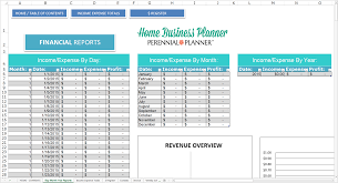 Business Income And Expense Spreadsheet Home Business Planner Savvy Spreadsheets