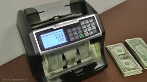 Counter by Royal Sovereign Electric Bill Counter W Value Counting Rbc 4500