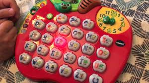 cuisine vtech vtech alphabet apple nteractive toddler learning with light up