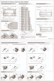 dtc undermount drawer slides samet slides