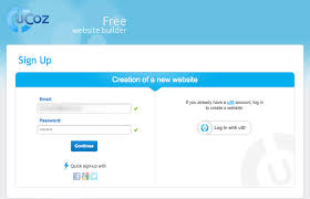 website templates for ucoz create free website using ucoz