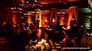 halloween wedding lighting ideas at villa siena in gilbert az