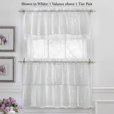 Battenburg Lace Kitchen Curtains by Luxury White Lace Kitchen Curtains Taste