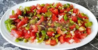 cuisiner des poivrons verts les secrets de cuisine par lalla latifa salade aux poivrons
