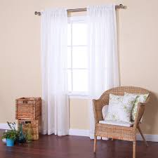 3 Inch Rod Pocket Sheer Curtains Amazon Com Best Home Fashion Sheer Branch Pattern Curtains Rod